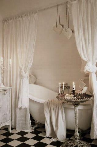 siglo best shower curtain for clawfoot tub. DIY Mason Jar Light Interior design classes Attic and Courtyard ideasDIY  Siglo Best Shower Curtain For Clawfoot Tub