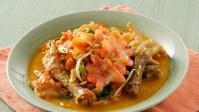 Tutorial Seblak Ceker Kuah Pedas Resep Kari Resep Makanan