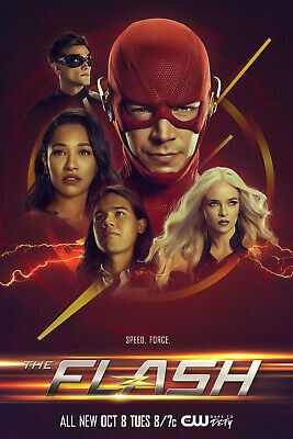 Details About The Flash Season 6 Poster 12x18 24x36 32x48 Dc