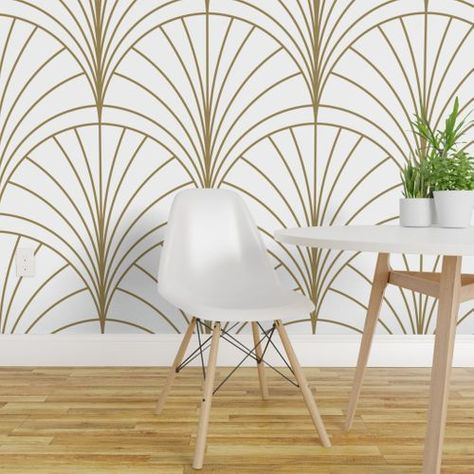Semicircle Wallpaper Murals Wall art decals Non woven wallpaper Feature Wall Made to Measure Home wall decor