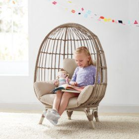 Member S Mark Kids Egg Chair Choose Your Color Sam S Club In 2020 Kids Reading Chair Egg Chair Kids Chairs