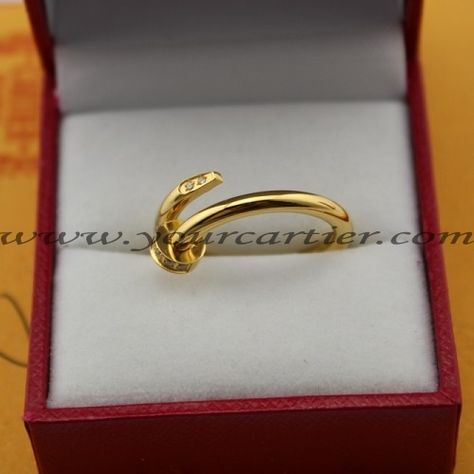 Cartier Juste Un Clou Ring Yellow Gold Diamonds 8616 $69 00