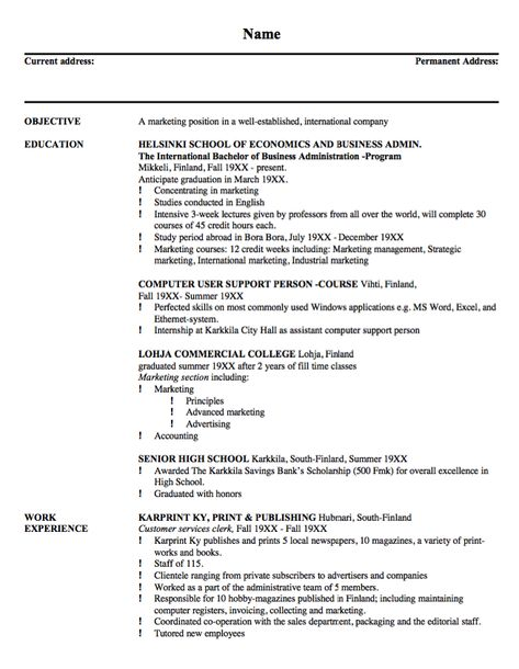 Resume Example For Building Maintenance -    resumesdesign - showroom assistant sample resume