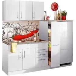 Held Mobel Kuchenzeile Mit E Geraten Toronto Breite 280 Cm Weiss O Kitchen Cabinets Home Kitchens Cabinet