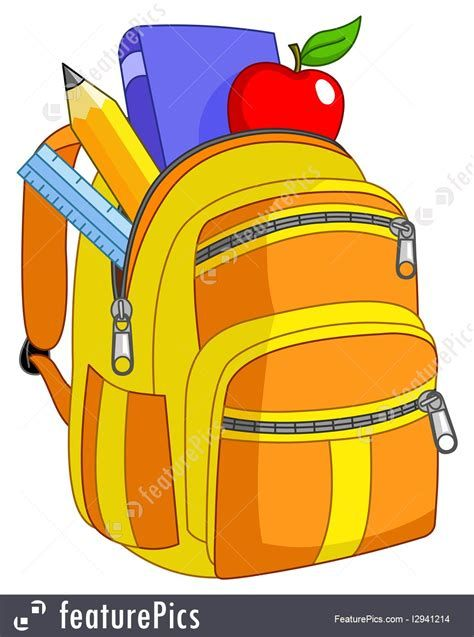 school backpacks illustration #backpack #ideas #diy | drawing bag, bag  illustration, school bags  pinterest
