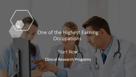 Learn how to become a clinical research specialist/project manager
