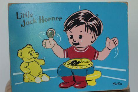 Little Jack Horner 9 piece frame-tray puzzle
