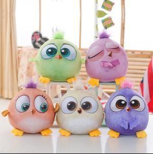 1PC 18cm Creative 3D Cartoon Lovely Animal Birds Stuffed Plush Toys Dolls For kids gift