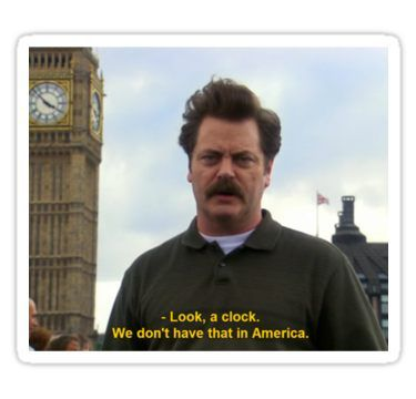'Ron Swanson Hates Europe' Sticker by WillLivingston Funny Nurse Quotes, Nurse Humor, Stupid Funny Memes, Haha Funny, Funny Posts, Funny Stuff, Parks And Rec Memes, Parks And Recreation, Nursing Memes