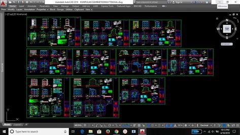 Download Gambar Dwg Pintu Dan Jendela Kumpulan File Dwg Gratis Kumpulan File Autocad Tutorial Membuat Dinding 3d Dan Memasang Je Jendela Desain Rumah Rumah
