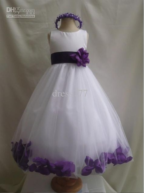 Purple And White Wedding Dress White Purple Wedding Bridesmaid