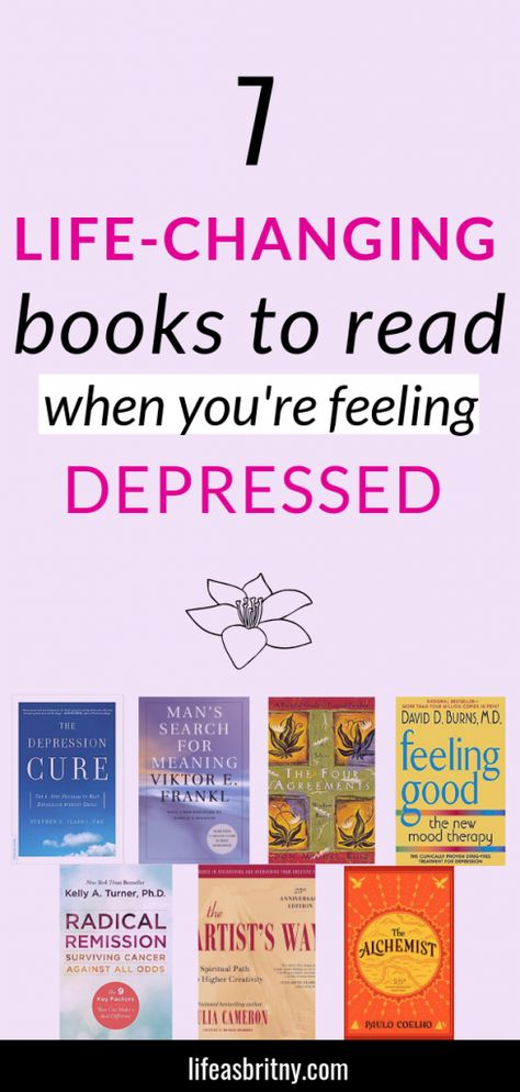 7 Life-changing Books to Read When You're Feeling Depressed