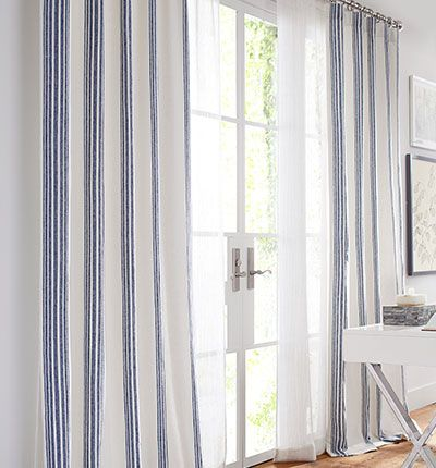 Riviera Stripe Curtains Striped Curtains Drapes Curtains