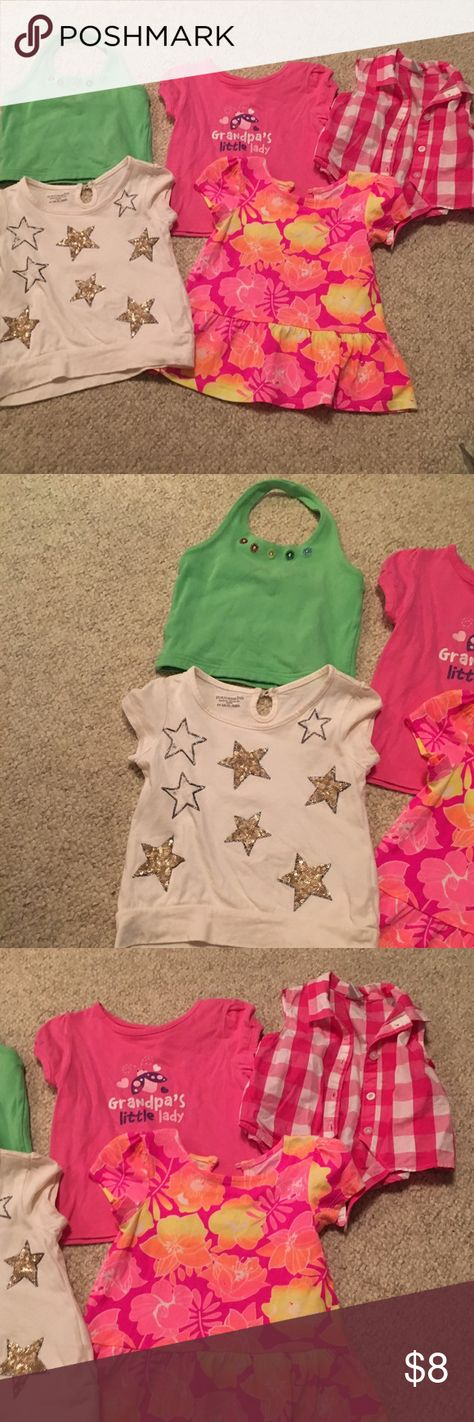 5 baby girl 24 month old tops/shirts 5 baby girl 24 month old tops/shirts in nice condition bundle # 193 Shirts & Tops