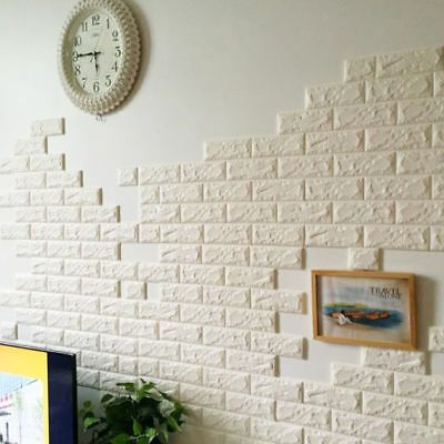 Details About 3d Brick Pattern Wallpaper Sticker Living Room Modern Wall Background Tv Decor Brick Wall Wallpaper Brick Pattern Wallpaper Diy Wallpaper