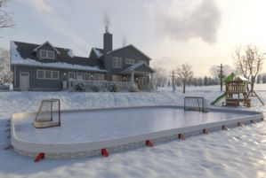 Backyard Ice Hockey Rinks Best Home Ice Skating Rink Kits Ez Ice Backyard Rink Backyard Ice Rink Outdoor Ice Skating
