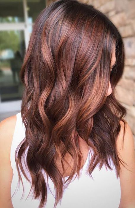 Black Coffee Hair With Ombre Highlights - 10 Cool Ideas of Coffee Brown Hair Color - The Trending Hairstyle Hair Color Auburn, Red Hair Color, Fall Hair Colors, Brown Hair Colors, Red Hair For Fall, Reddish Brown Hair Color, Fall Hair Color For Brunettes, Hot Hair Colors, Red Balayage Hair