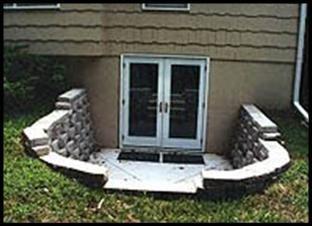 Basement Entrances Egress Systems Custom Entranceways Access Walkout Contractors Entrance Install