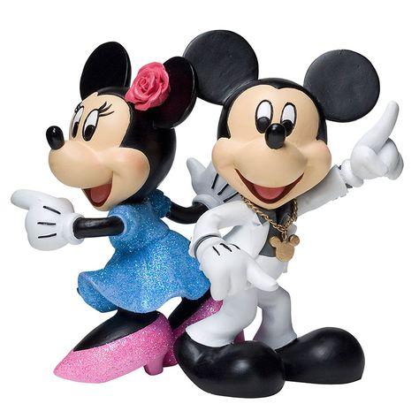 Disney Showcase Collection - Mickey & Minnie Disco Figurine - 1875 points