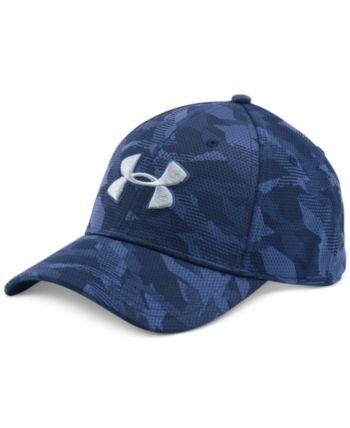 Under Armour Men s Printed HeatGear Logo Hat  42d8c056d9c