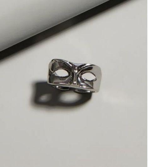 Shein or Amazon #mask #rings #silver #shein #amazon @AlexiaJaddee