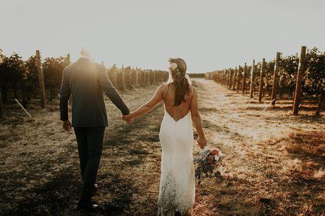 Ashley+Craig Vineyard Wedding in Walla Walla Washington