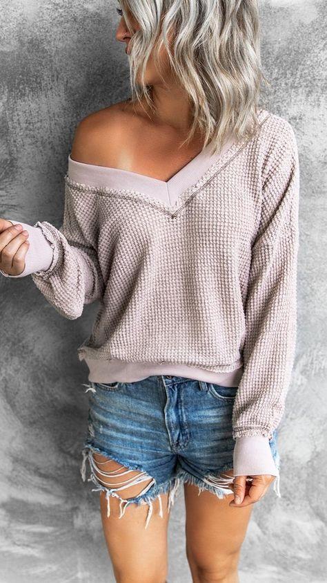 Misty Lilac Sweater