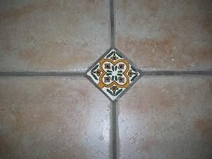 Decorative Tile Inserts Fascinating Decorative Spanish Ceramic Tile Inserts  Spanish Courtyard Ideas Design Inspiration