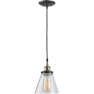 Globe Electric 1 Light Vintage Edison Hanging Pendant