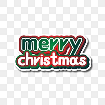 Pin On Merry Christmas Text Decoration