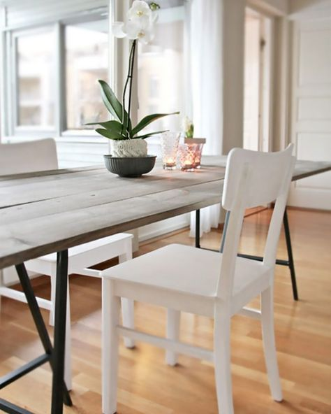 Une Table En Bois Diy Table Salle A Manger Table A Manger Diy Et Table En Bois Diy