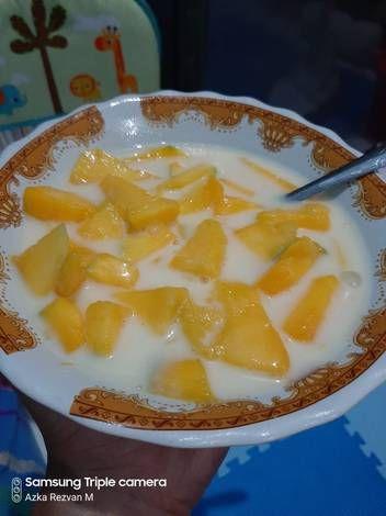 Resep Es Yakult Mangga Oleh Anisa Resep Makanan Resep Buah