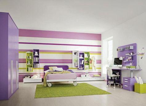 Camerette decorate ~ Camerette ragazzi pareti decorate house inputs