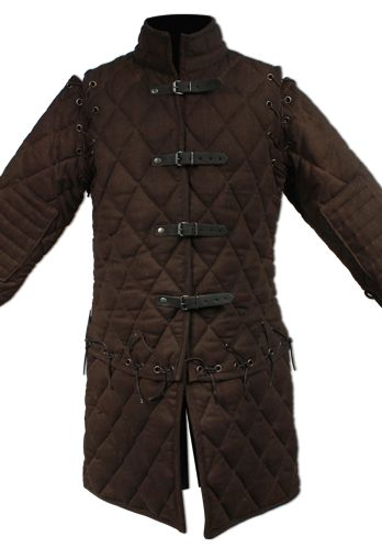 Gambeson Set Arthur This gambeson is very thick and durable. It is perfect for heavy armour or just for dressing your character. The set includes the basic gambeson with attached sleeves and tassets. Size:  S, M, L, XL  Color:...