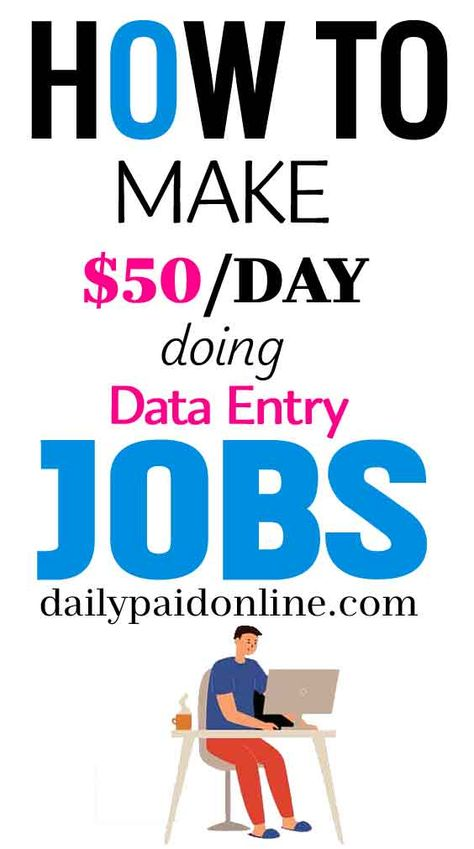10 Easy Ways To Make Money From Home For Beginners Working Work From Home Data Entry Jobs