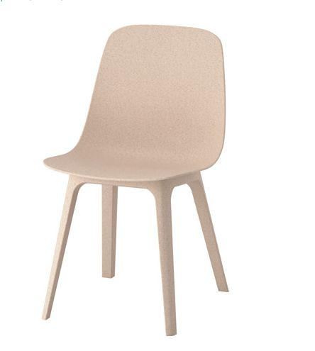 Sedie A Sdraio Ikea.Odger Sedia Bianco Beige Idee Ikea Sedie E Sedia Ikea
