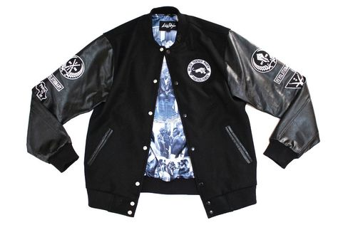 Black Panther Varsity Jacket in Black | Party jackets