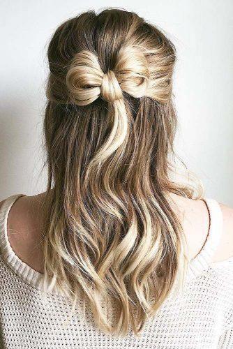 30 Cute And Easy Wedding Hairstyles Cute Easy Hairstyles Wedding Cute Easy Hair Easy Hairstyles For Kids Simple Wedding Hairstyles Medium Hair Styles