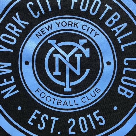 Details about Adidas New York City FC NYCFC 2015 T Shirt B293A Black Mens L Soccer Jersey MLS