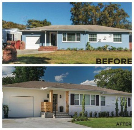 37 Trendy Ideas House Renovation Before And After Exterior Fixer