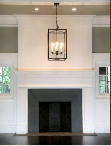 Simple White Fireplace Home Fireplace Slate Fireplace Simple Fireplace