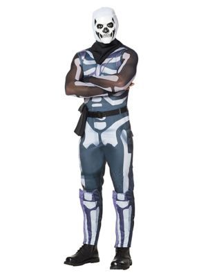 Spirit Halloween Fortnite Costumes For Kids.Men S Skull Trooper Costume Fortnite By Spirit Halloween