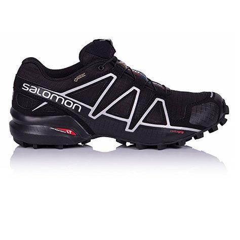 067b5942c0e Salomon Men's Speedcross 4 GTX Trail Runner, Slate Blue/Blue Depth/Corona  Yellow