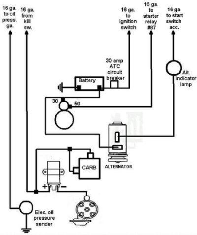 43 Vw Generator To Alternator Conversion Wiring Diagram