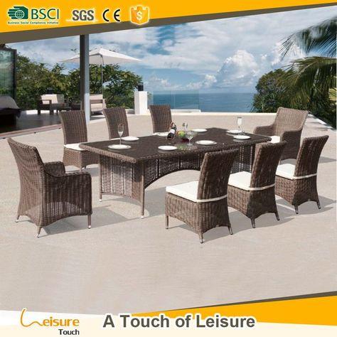 Gunstiger Preis Terrassenmobel Outdoor Dining Set Garten Rattan