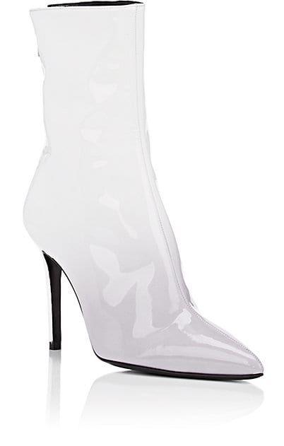 edfb04f87f5 Dégradé Patent Leather Ankle Boots | Barneys New York x Jordyn Woods ...