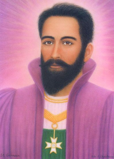 Saint Germain Klein Ascended Masters Saint Germain St Germain