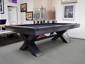 Plank And Hide Vox Pool Table Including Installation Pool Table Table Tennis Room Bars For Home