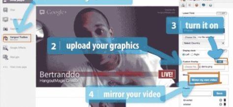 Hangout Magix: New Tool Lets You Add Branding to Google Hangouts
