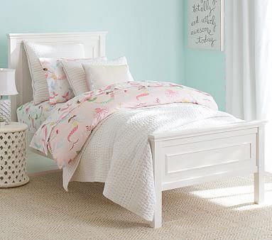Fillmore Low Footboard Full Bed Luxury Firm Mattress Dresser Simply White Bedroomsets Kids Bedroom Furniture Bedroom Furniture Sets Kid Beds